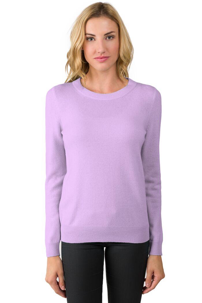 Wisteria Cashmere Crewneck Sweater
